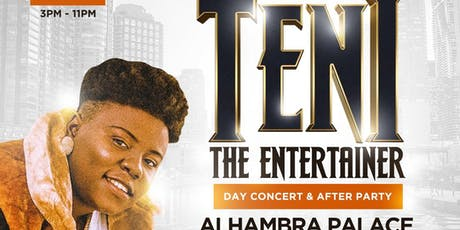 TENI LIVE IN CHICAGO tickets