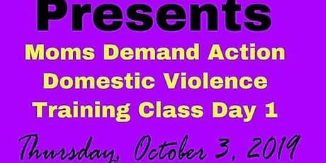 MOMS DEMAND ACTION COMMUNITY DOMESTIC VIOLENCE TRAINING CLASS tickets