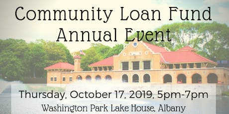 Community Loan Fund of the Capital Region Annual Event tickets
