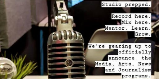 Call for Podcasters: Media, Art & Journalism Info Session