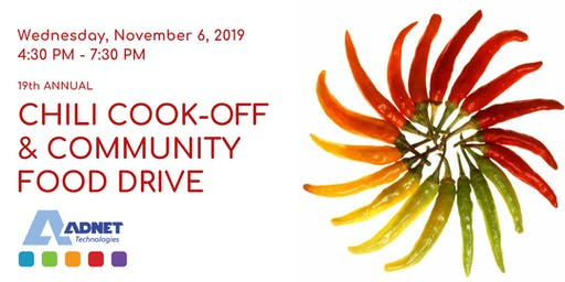 19th Annual Chili Cook-Off & Community Food Drive
