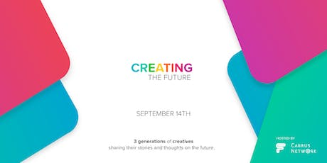 3 GENERATIONS OF CREATIVES - Seminars tickets