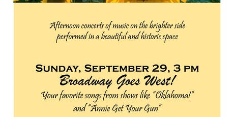 """""""Broadway Goes West"""" tickets"""