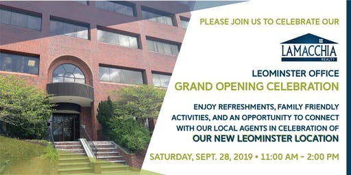 Lamacchia Realty Leominster Grand Opening Celebration