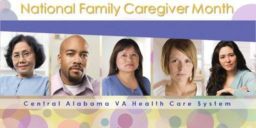 Central Alabama VA Caregiver Support Month