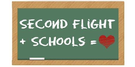 Educator Appreciation Night at Second Flight Books tickets