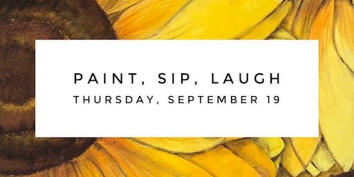 September: Paint, Sip, Laugh
