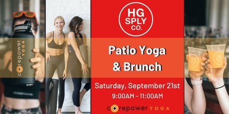 Patio Yoga & Brunch tickets