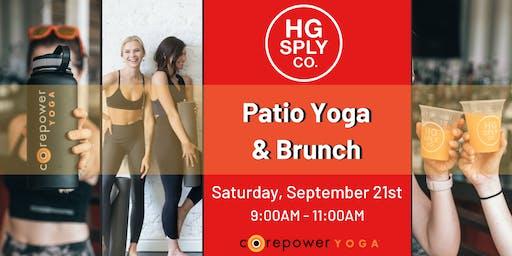 Patio Yoga & Brunch