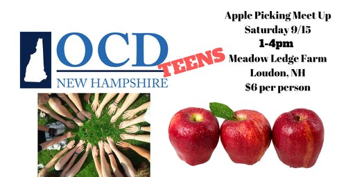 OCD NH Teens Apple Picking
