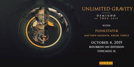 Unlimited Gravity wsg FunkStatik tickets