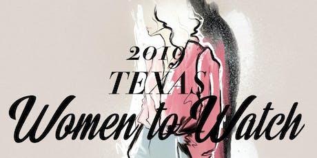 ELEANORA 2019 Texas Women to Watch Celebration tickets