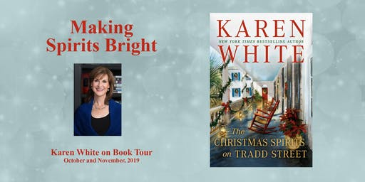 Karen White at the Newnan Carnegie Library