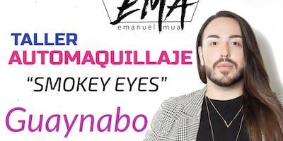 GUAYNABO- TALLER DE AUTOMAQUILLAJE- SMOKEY EYES- PESTAÑAS POSTIZAS