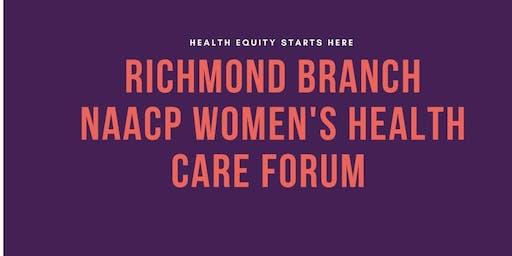 Richmond Branch NAACP Women's Health Forum
