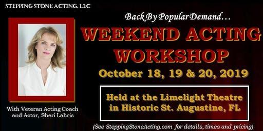 Weekend Acting Workshop - A Weekend of Acting Essentials!