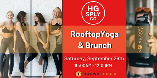 CorePower Rooftop Yoga & Brunch