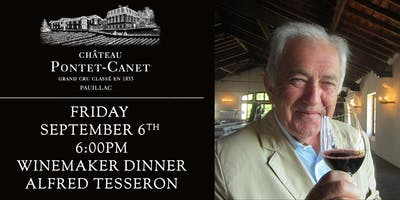 Chateau Pontet-Canet Dinner, with Alfred Tesseron, at Bounty Hunter Napa