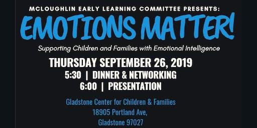 Emotions Matter!