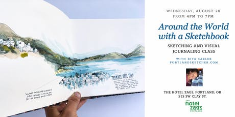 Around the World with a Sketchbook with Rita Sabler tickets