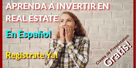 APRENDA A INVERTIR EN REAL ESTATE! Davie, Fl tickets