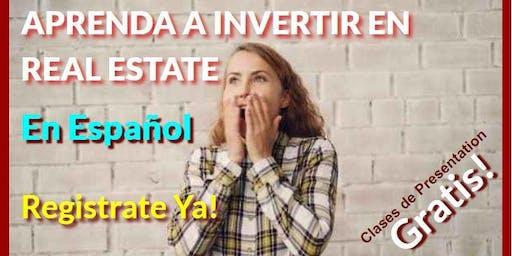 APRENDA A INVERTIR EN REAL ESTATE! Davie, Fl