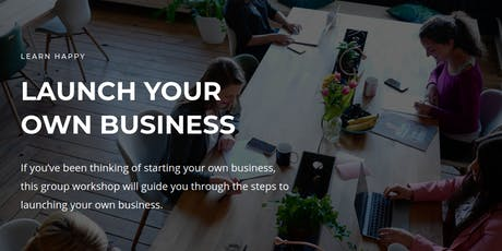 Two Day Workshop For Women - Launch Your Own Business tickets