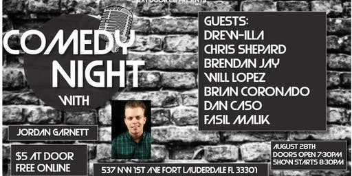 Comedy Night with Jordan Garnett