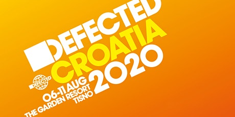 Defected Croatia 2020 tickets