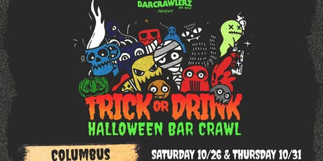 Trick or Drink: Columbus Halloween Bar Crawl (2 Days) tickets