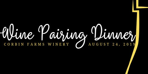 Wine Pairing Dinner Friday