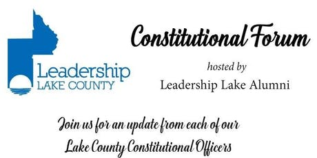 Leadership Lake County Constitutional Forum tickets