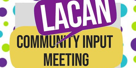 LaCAN Meeting tickets