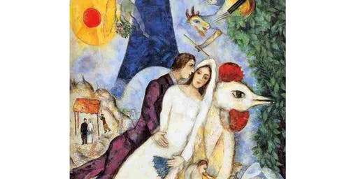 Paint & Wine with Chagall's Bride & Groom