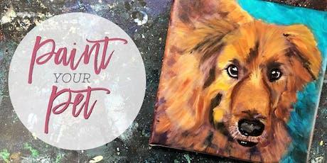Paint & Sip: Paint Your Pet Portrait tickets