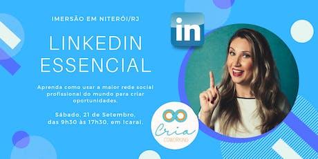 Imersão LinkedIn Essencial RJ ingressos