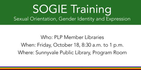 Sexual Orientation, Gender Identity and Expression (SOGIE) Training for PLP tickets