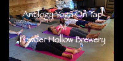 Yoga & Beer at Powder Hollow Brewery