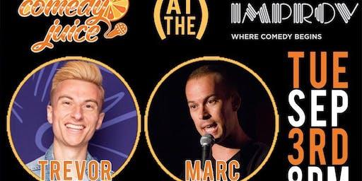 Free Comedy @ The Irvine Improv Tuesday 9/3! Trevor Wallace Headlines!