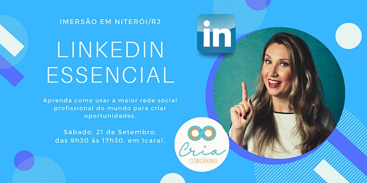 Imagem do evento Imersão LinkedIn Essencial RJ