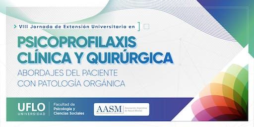 VIII Jornada de Extensión Universitaria en  Psicoprofilaxis Clínica y Quirúrgica