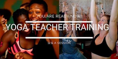 200 HR Teacher Training Q&A tickets