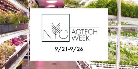 NYC AgTech Week 2019 tickets