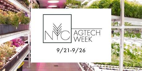 NYC AgTech Week 2019 tickets