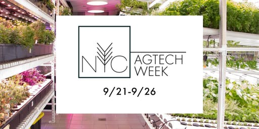 NYC AgTech Week 2019