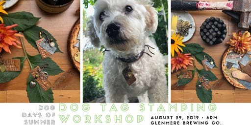 Jewelry for Dogs // Dog Tag Stamping Workshop for Dogs or Cats