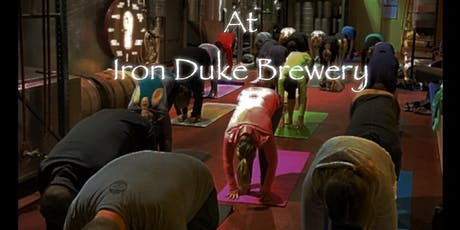 Yoga & Beer at Iron Duke Brewing tickets