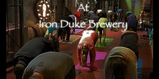 Yoga & Beer at Iron Duke Brewing