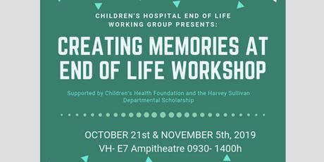 Creating Memories at End of Life Workshop Tickets, Multiple