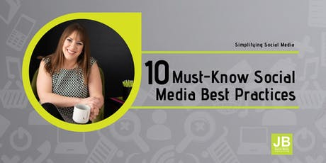 10 Must-Know Social Media Best Practices tickets